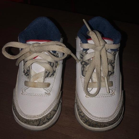 9ba2302a6fc86e Jordan Other - Kids Jordan 3 true blue. Size 5c